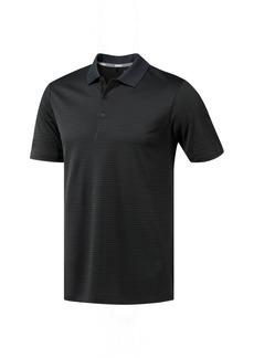 Adidas Mens 2-Color Stripe Polo (Black/Carbon) - S - Also in: XXL, L, M, XL