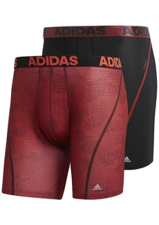 adidas Men's 2-Pk. ClimaCool Graphic Boxer Briefs