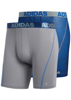 adidas Men's 2-Pk. Sport Performance ClimaCool Boxer Briefs