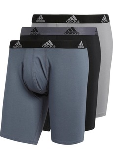 adidas Men's 3-Pk. Cotton Stretch Midway Briefs