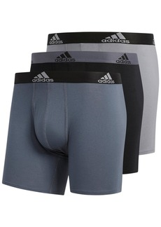 adidas Men's 3-Pk. Stretch Briefs