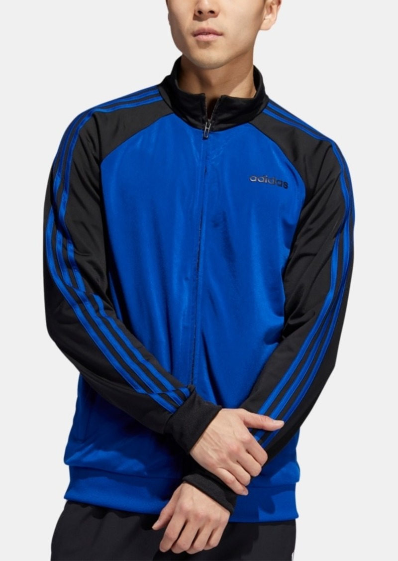 adidas Men's 3-Stripe Colorblocked Track Jacket