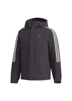 Adidas Men's 3-Stripe Down Jacket