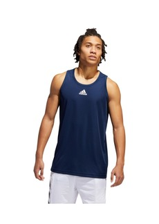 Adidas Men's 3G Contrast Trim Basketball Tank