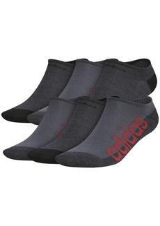 adidas Men's 6-Pk. Linear Superlite Ii No-Show Socks