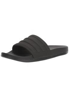 adidas Men's Adilette Comfort Slide Sandal Black ()