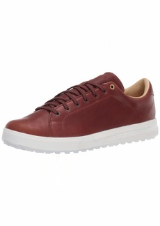 adidas Men's Adipure SP 2 Golf Shoe Tan Brown/Gold Metallic/core White  Medium Wide US