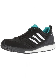 adidas Men's Adizero Tempo 9 Running Shoe Black/hi-res Aqua/Mystery Ink  M US