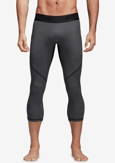adidas Men's Alphaskin ClimaCool Cropped Compression Leggings