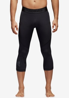 adidas Men's Alphaskin ClimaCool Cropped Compression Tights