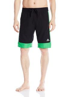 "adidas Men's Amped 10"" Inseam Volley Swim Trunk"