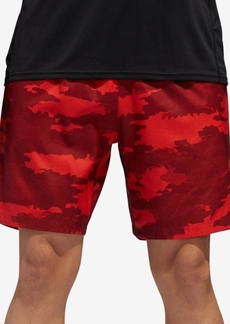 adidas Men's Camo-Print Woven Running Shorts