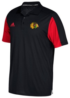 adidas Men's Chicago Blackhawks Authentic Pro Game Day Polo