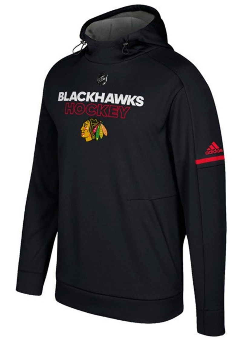 adidas Men's Chicago Blackhawks Authentic Pro Hoodie
