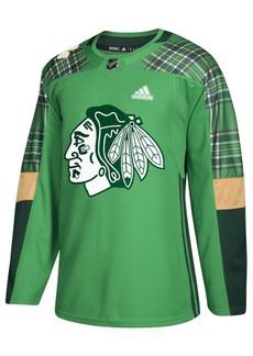 adidas Men's Chicago Blackhawks St. Patrick's Day Authentic Jersey