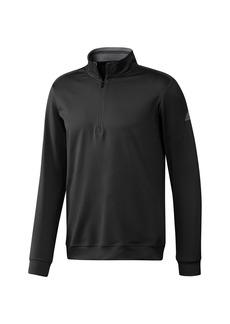 Adidas Mens Classic Club Zip Sweater (Black) - S - Also in: XXL, XL, M