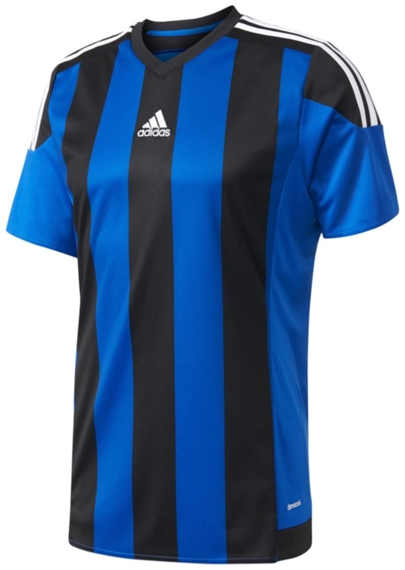 Adidas adidas Men s ClimaCool Striped Soccer Jersey 09ecf1a9c