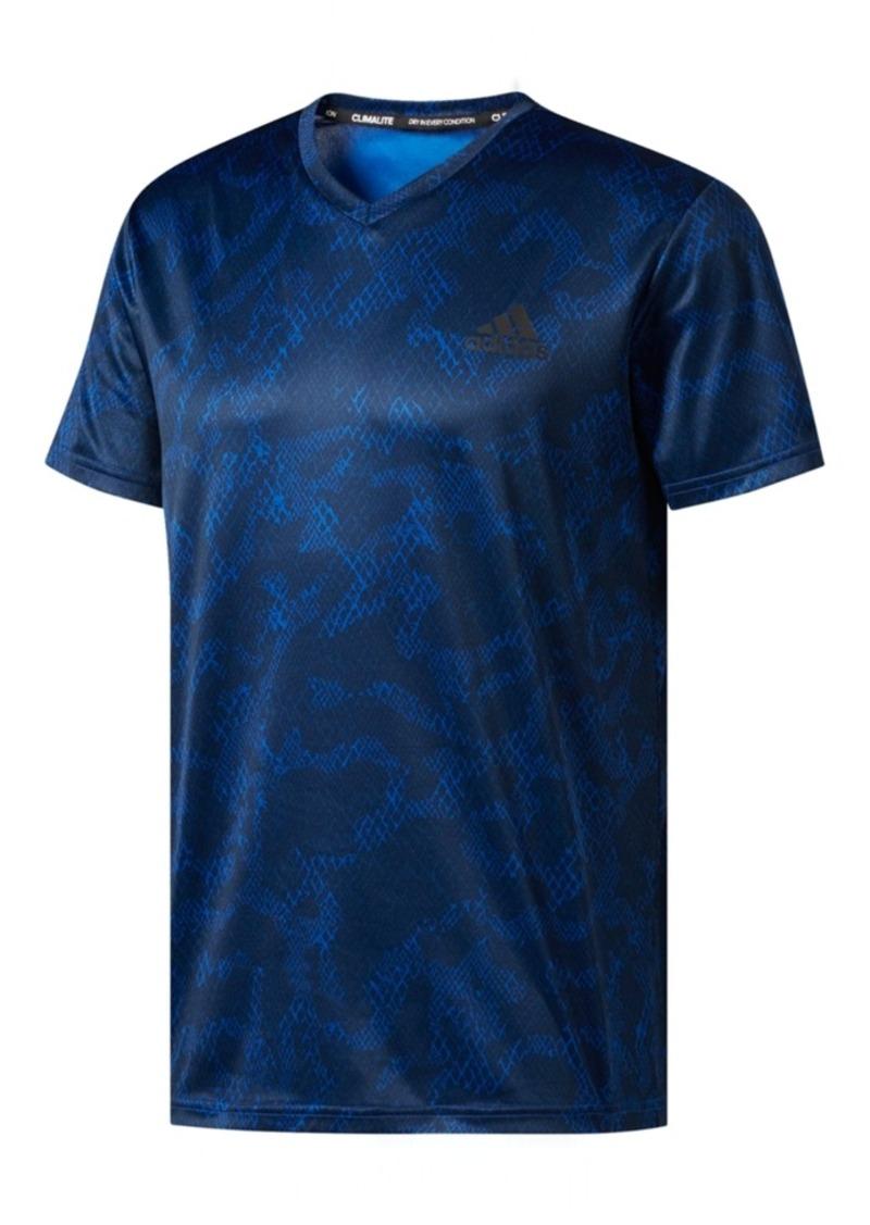 a4e13ff13 On Sale today! Adidas adidas Men s ClimaLite Essentials Printed T-Shirt