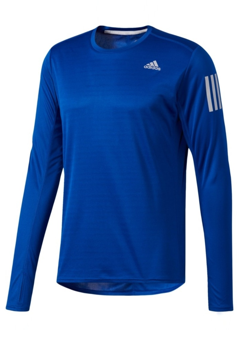 b4688b2f Adidas adidas Men's ClimaLite Response Running Long-Sleeve T-Shirt
