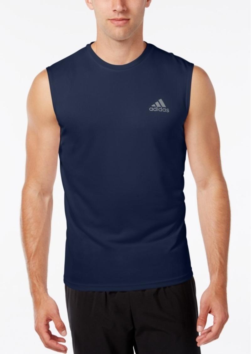 Adidas Adidas Men S Climalite Sleeveless T Shirt