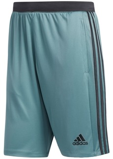 "adidas Men's ClimaLite Three-Stripe 10"" Shorts"
