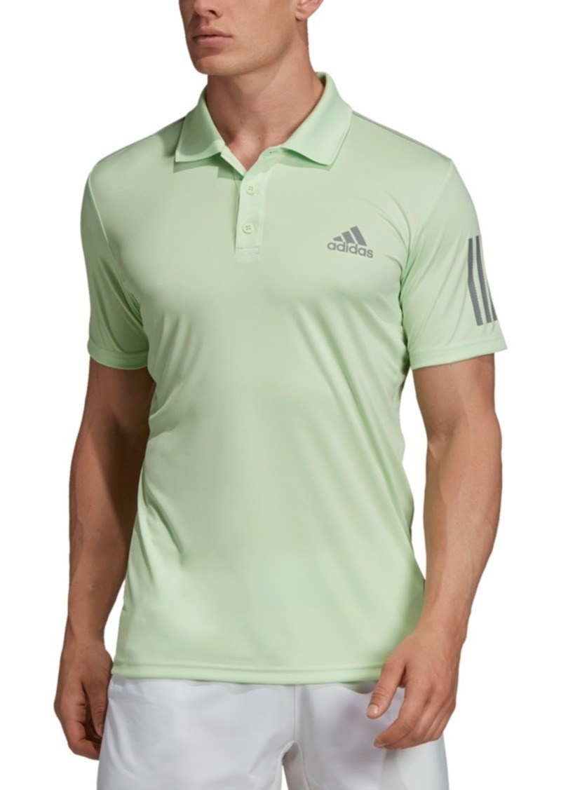 Adidas Men's Club 3 Stripe Tennis Polo Shirt