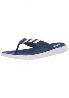adidas Men's Comfort Flip Flop Slide Sandal   M US