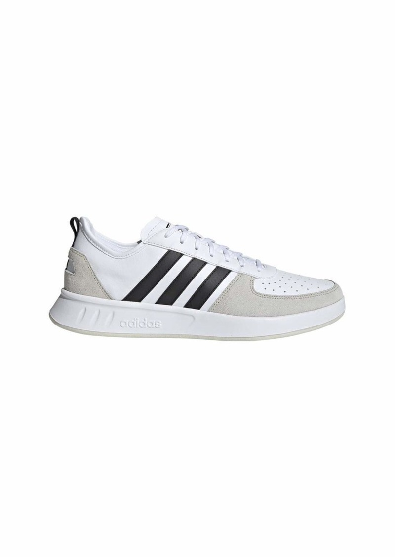 adidas Men's Court80s Sneaker Black/raw White  M US