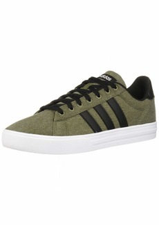 adidas Men's Daily 2.0 Sneaker raw Khaki/Black/White  M US