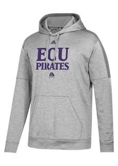 adidas Men's East Carolina Pirates Team Issue Fleece Hoodie