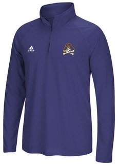 adidas Men's East Carolina Pirates Ultimate Quarter-Zip Pullover