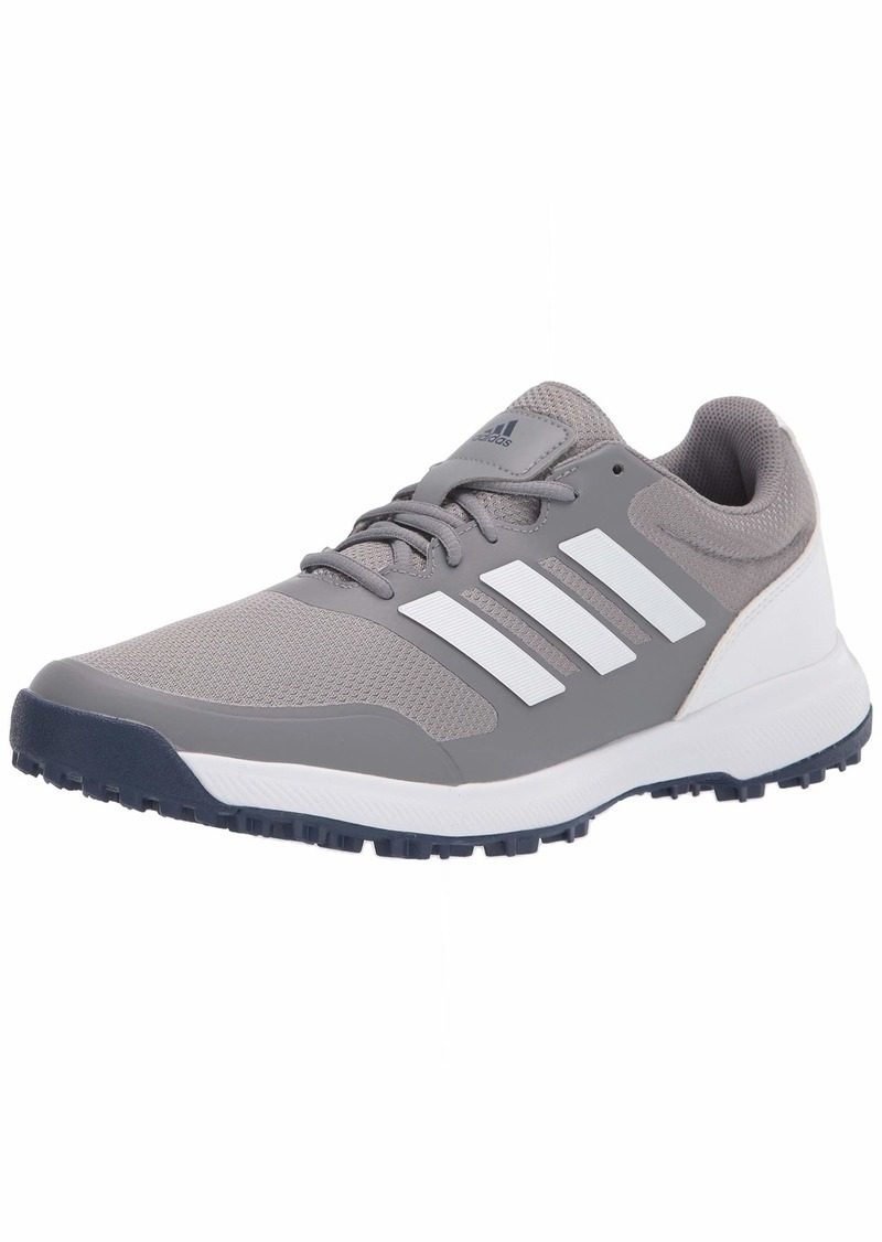 adidas Men's Tech Response Spikeless Golf Shoe  Three/Ftwr White