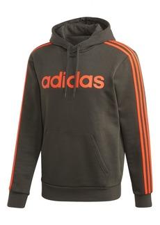adidas Men's Essential 3-Stripe Fleece Hoodie