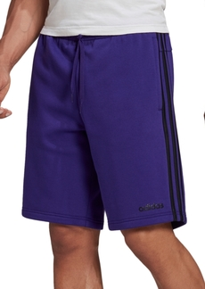 "adidas Men's Essentials 3-Stripes 10"" Fleece Shorts"