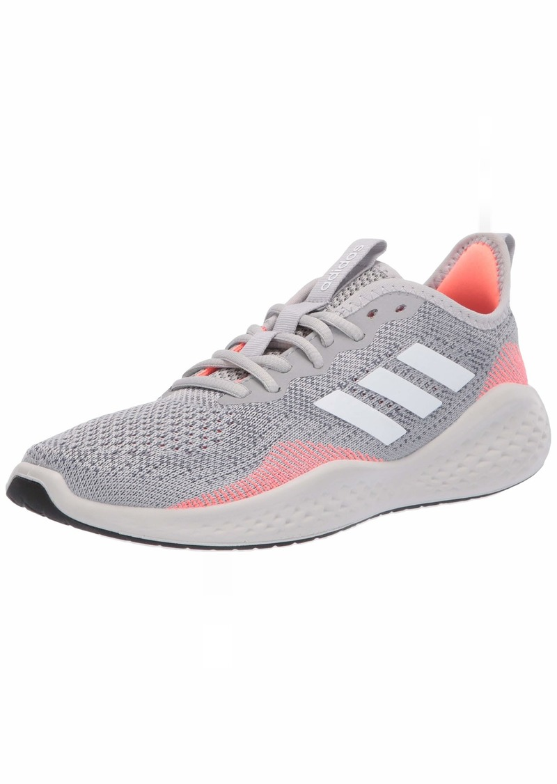 adidas Men's Fluidflow Bounce Regular Fit Running Sneakers Shoes grey/ftwr White/Signal Coral  M US