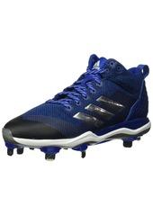 adidas Men's Freak X Carbon Mid Baseball Shoe Collegiate Royal Silver met FTWR White  M US
