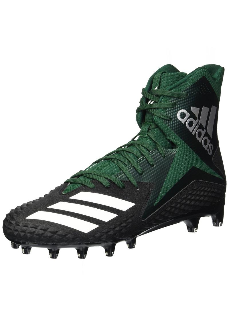 b4546af0bd3f7 adidas Men s Freak X Carbon Mid Football Shoe core Black White Dark Green