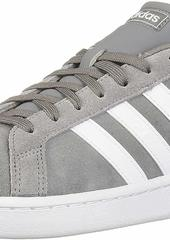 adidas mens Grand Court Sneaker Grey/White/Grey  US