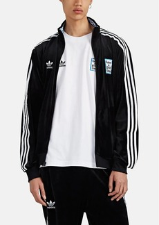 "adidas Men's ""Have A Good Time"" Velour Track Jacket"