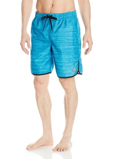 adidas Men's Heather Volley Swim Trunk