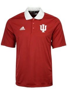 adidas Men's Indiana Hoosiers 2017 Coaches Polo