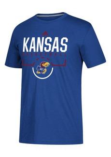 adidas Men's Kansas Jayhawks On Court Practice T-Shirt