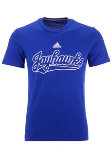 adidas Men's Kansas Jayhawks Performance T-Shirt