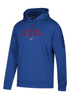 adidas Men's Kansas Jayhawks Team Issue Fleece Hoodie