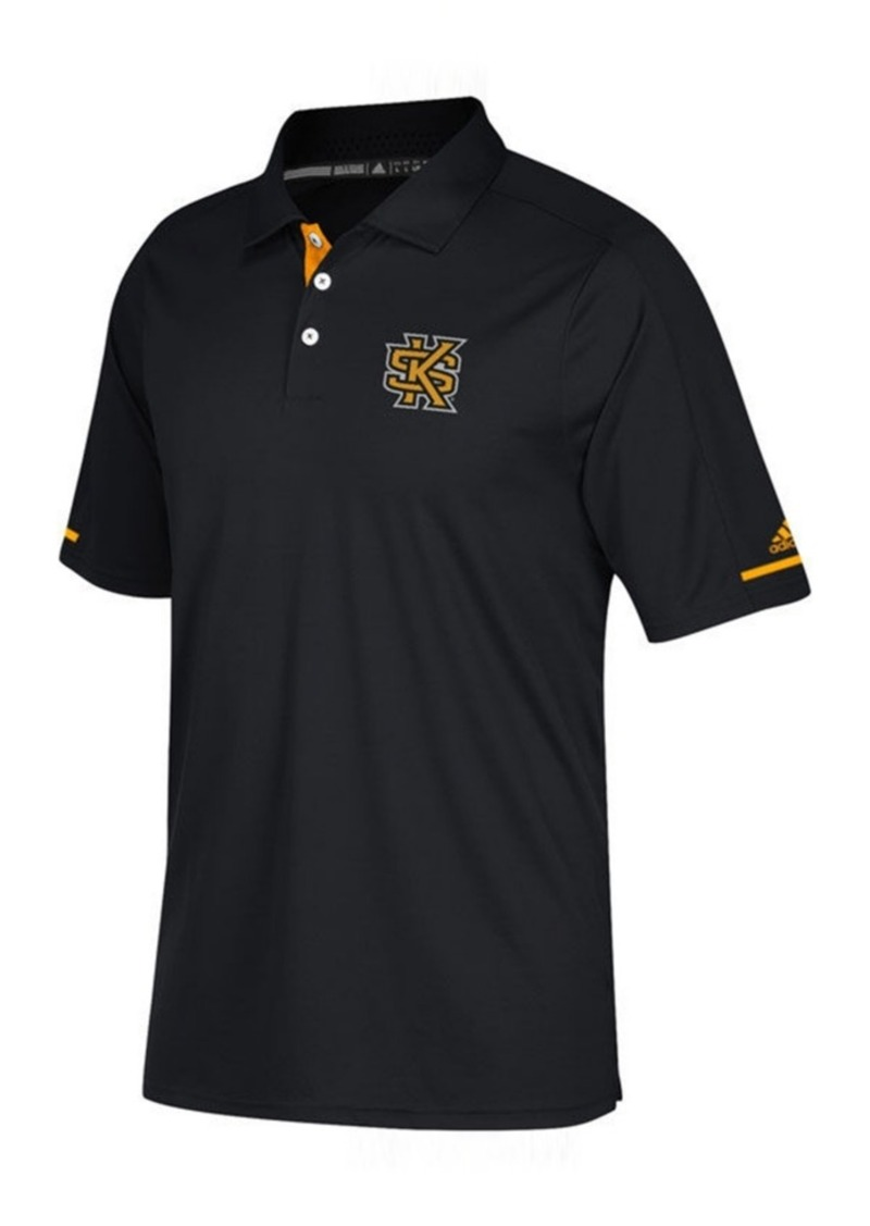 adidas Men's Kennesaw State Owls Sideline Climachill Polo
