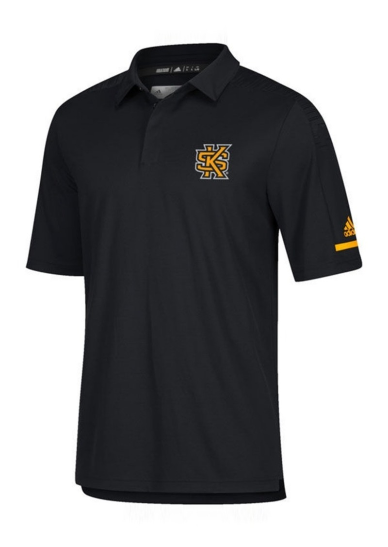 adidas Men's Kennesaw State Owls Team Iconic Coaches Polo