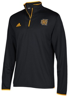 adidas Men's Kennesaw State Owls Team Iconic Quarter-Zip Pullover