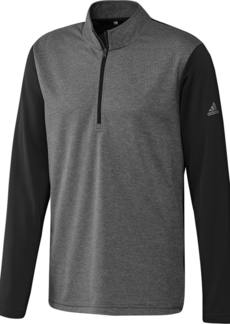 Adidas Mens Lightweight Zip Sweater (Black) - L