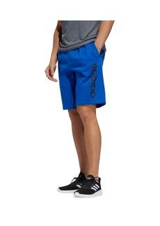 """adidas Men's Linear Logo 11"""" Fleece Shorts"""