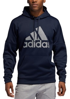 adidas Men's Team Issue Fleece Logo Hoodie